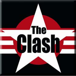 The Clash Fridge Magnet: Stars & Stripes