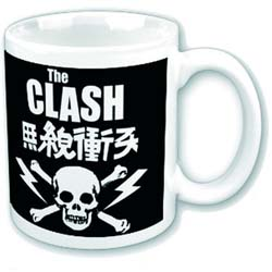 The Clash Boxed Standard Mug: Skull & Crossbones