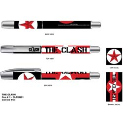 The Clash Pen: Stars & Stripes with Plastic Gel Ink