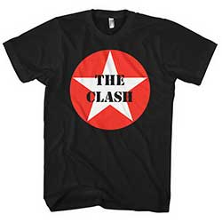 The Clash Unisex Tee: Star Badge