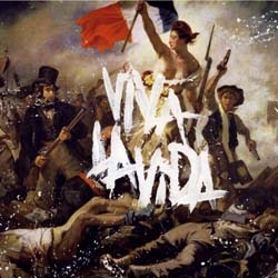 Coldplay Greetings Card: Viva la Vida