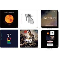 Coldplay Coaster Set: Logos