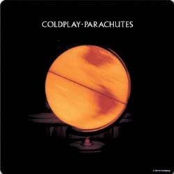 Coldplay Single Cork Coaster: Parachutes