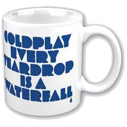 Coldplay Boxed Standard Mug: Every Teardrop is a Waterfall
