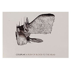 Coldplay Postcard: A Rush Of Blood To The Head (Standard)