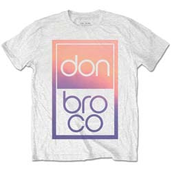 Don Broco Unisex Tee: Gradient