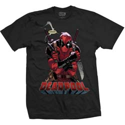 Marvel Comics Unisex Tee: Deadpool Gonna Die