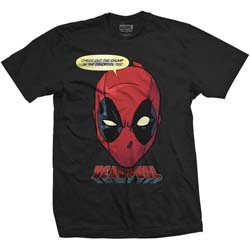 Marvel Comics Unisex Tee: Deadpool Chump