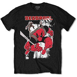 Marvel Comics Unisex Tee: Deadpool Max