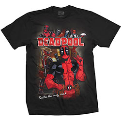 Marvel Comics Unisex Tee: Deadpool Homage