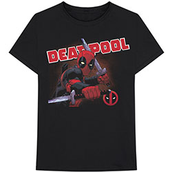 Marvel Comics Unisex Tee: Deadpool Cover