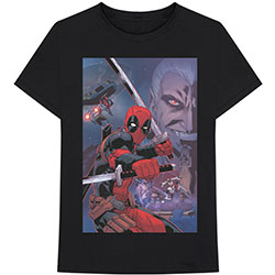 Marvel Comics Unisex Tee: Deadpool Composite