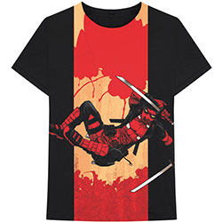 Marvel Comics Unisex Tee: Deadpool Samurai