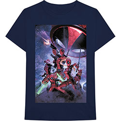 Marvel Comics Unisex Tee: Deadpool Family