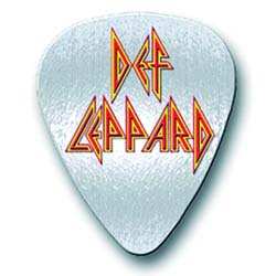 Def Leppard Pin Badge: Pick Logo