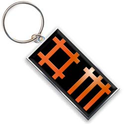 Depeche Mode Keychain: Logo (Photo-print)