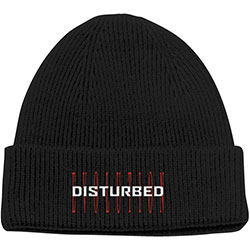 Disturbed Unisex Beanie Hat: Evolution
