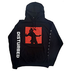 Disturbed Unisex Pullover Hoodie: Evolution (Ex-Tour)