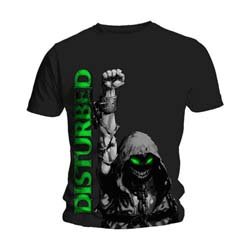 Disturbed Unisex Tee: Up Your Fist