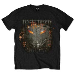 Disturbed Unisex Tee: Fire Behind