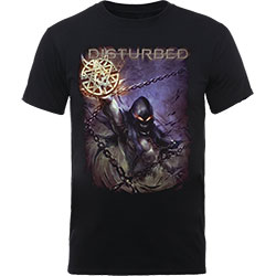 Disturbed Unisex Tee: Vortex Colours