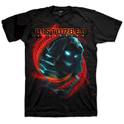 Disturbed Unisex Tee: DNA Swirl