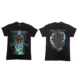 Disturbed Unisex Tee: Evolve Dateback (Ex-Tour/Back Print)