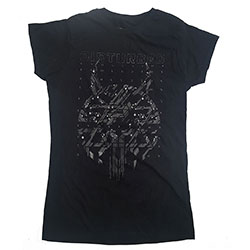 Disturbed Ladies Tee: Omni Foil (Ex-Tour)