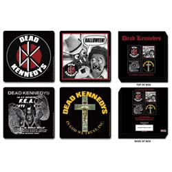 Dead Kennedys Coaster Set: Mixed Designs