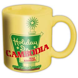 Dead Kennedys Boxed Standard Mug: Holidays in Cambodia