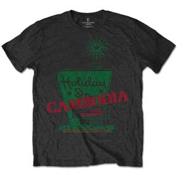 Dead Kennedys Unisex Tee: Holiday in Cambodia