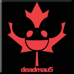 Deadmau5 Fridge Magnet: Maple Mau5