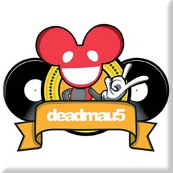 Deadmau5 Fridge Magnet: Rock DJ