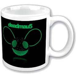Deadmau5 Boxed Standard Mug: Green Disco-Ball Head