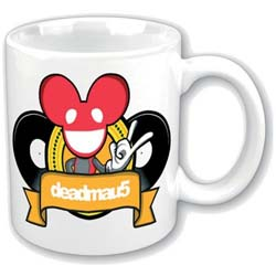Deadmau5 Boxed Standard Mug: Rock DJ