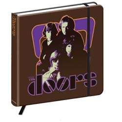 The Doors Notebook: 70's Panel (Hard Back)