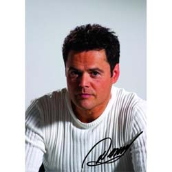 Donny Osmond Postcard: In White Shirt (Standard)