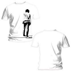 The Doors Unisex Tee: Solitary (Back Print)