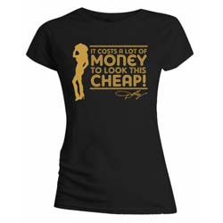 Dolly Parton Ladies Tee: Lot of Money