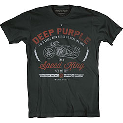 Deep Purple Unisex Tee: Speed King