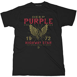 Deep Purple Unisex Tee: Highway Star