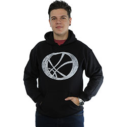 Marvel Comics Men's Pullover Hoodie: Doctor Strange Symbol (Medium)