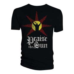 Dark Souls Unisex Tee: Praise the Sun