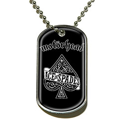 Motorhead Dog Tag Pendant: Ace Of Spades