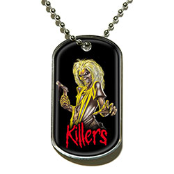 Iron Maiden Dog Tag Pendant: Killers