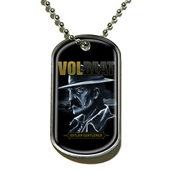 Volbeat Dog Tag Pendant: Outlaw Gentlemen