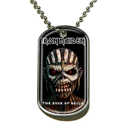 Iron Maiden Dog Tag Pendant: The Book of Souls