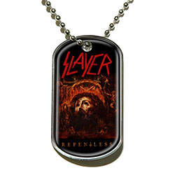 Slayer Dog Tag Pendant: Repentless
