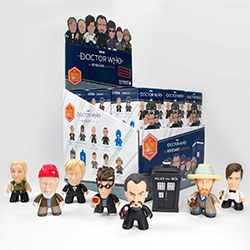 "Doctor Who TITANS: Renegade 18 Piece Blind Box Collection (3"")"