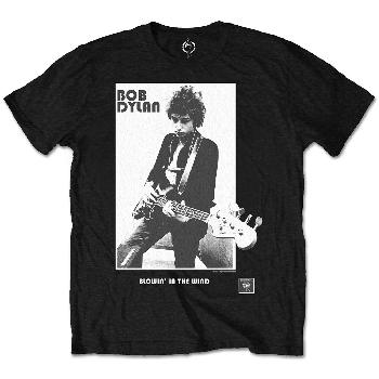 Bob Dylan Men's Tee: Blowing in the Wind (Retail Pack)